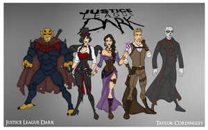 My DCU - Justice League Dark Redesigned by Femmes-Fatales