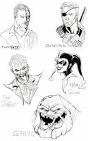 Character Profiles 1 by TimelessUnknown