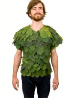 Leafy T- shirt by mintOskitties