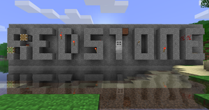 Minecraft Wallpaper - Redstone by Nod3rator