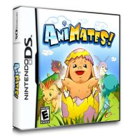 Amimates Cover Art by RUSKULL
