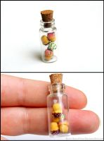 Cupcake Bottle Charm by Bon-AppetEats