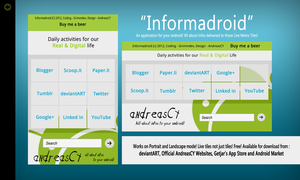 Informadroid Android App Coming Soon by andreascy