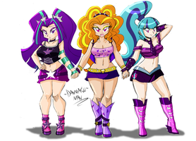 Commission: Sexy and Evil by DANMAKUMAN