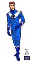 Reed Richards is Mister Fantastic colab by CDL113
