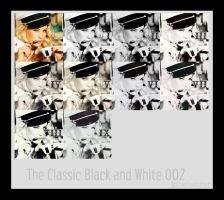 The Classic Black and White 02 by hiimlucifer