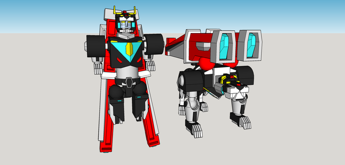 Voltron wip 5 by Lilscotty