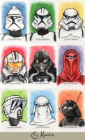 SW Chrome Perspectives - Troopers by Monster-Man-08