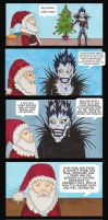 What would you do if you met Santa? Ryuk's Story by Dragon-flame13