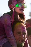 Holi Festival of Colours 04 by obviologist