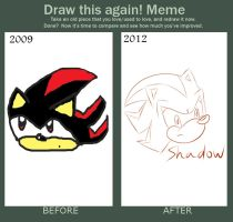 Before And After: Shadow Sketch by Angel-Hearted-Being