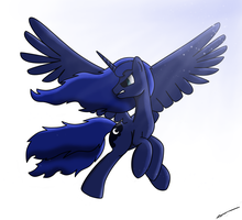 Luna's Flight by PoshPete117