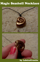 Seashell Necklace by Laleira-Granite