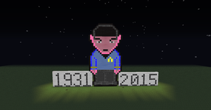 Tribute to Spock (Leonard Nimoy) by CelticDragon0