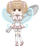 Pixel Art: Tea Fairy by Des-Kii
