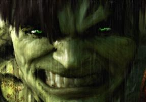 The Incredible Hulk by Microbxer