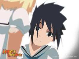 sasuke cute face plz by annria2002