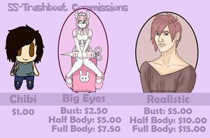 Commission Sheet (OPEN) by SS-Trashboat