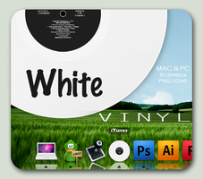 White Vinyl iTunes by 2befine
