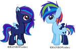 LunaDash Shipping Foals for SilverRomance by BrokenMirrors-Adopts