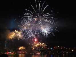 Fleet Review Fireworks 21 by BrendanR85