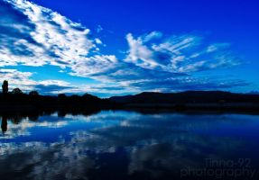 Clouds in a mirror by Tinna-92