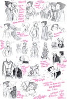 :GS: March Doodle Dump 1 by alexis-the-angel