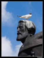Gull and Yaroslav the Wise by Katlinegrey