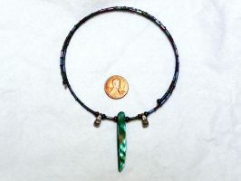 Tsunade choker necklace side 1 by wombat1138