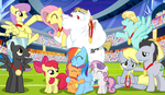 Sweet Victory ~ Thanks For 500 by PonyEcho