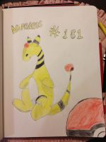 Ampharos Attempt by Taco-Cheese-Dog