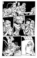 Una the Blade New Page by TessFowler