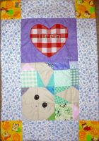 Baby Bunny Blanket by Crafty-lil-vixen