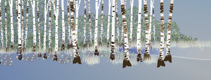 Building a forest: adding birches 3 by Starsong-Studio