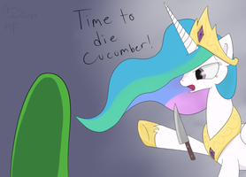 Speed challenge  ATG2 Day 19 Die Cucumber! by Muffinsforever
