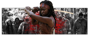 Michonne by Airw00lf