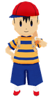 [lowpoly] Ness by drsypher