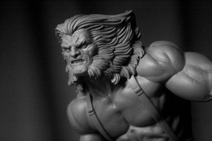 Bowen Weapon X statue COH 3 by ThiagoProvin