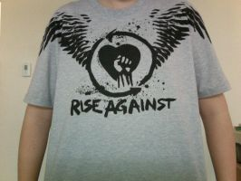 Rise Against T-Shirt by THE-R4GE
