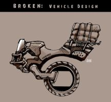 BROKEN- Vehicle Concept by scruffyronin