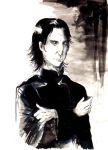 Severus Snape by pers-shime