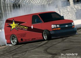 Virtual Tuning: Chevrolet Van by rubenick