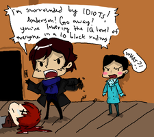 Sherlock: GO AWAY ANDERSON by SymphKat