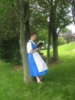 Belle reading by ProtectorKorii
