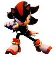 Shadow With Emerald Remastered (Re-render) Upgrade by FinnAkira