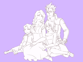 TaiNas's Family by asru-d