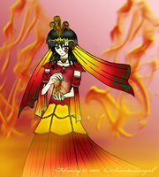 Lady of Phoenix Fire by Smartanimegirl