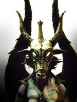 baphomet head by Fabreeze