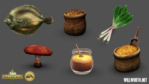 The Sims Medieval - Food 2 by DeadXIII