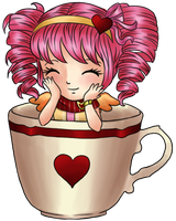 Avi in a cup by Gabilimalima